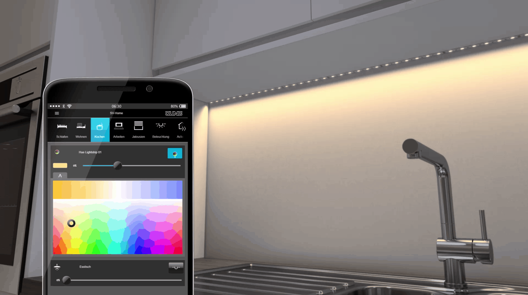 KNX Smart Home-systeem